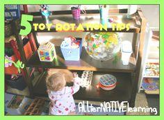 Toy Rotation Ideas: Keeping Kids Interested | ALLterNATIVElearning