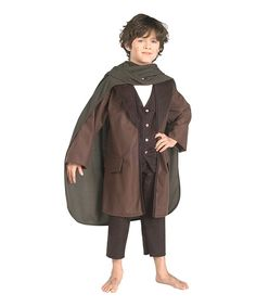 Look what I found on #zulily! Frodo Dress-Up Set - Boys by The Hobbit #zulilyfinds