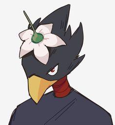 """ i have an announcement to make:"" Mbti, Tokoyami Boku No Hero, Baby Crows, Dark Love, Light Of My Life, Cute Birds, Cute Anime Boy, Boku No Hero Academy, Otaku Anime"