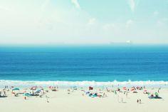 #atlantic #beach #blue #brazil #copacabana #fun #hot #ocean #people #praia #rio #riodejaneiro #sand #ship #summer #sun #water