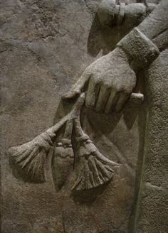 Tammuz - Detail of a bas-relief from the Temple of Nabu, the Babylonian god of wisdom and writing, in Khorsabad (Dur-Sharrukin), the capital city of the Assyrian Empire. The Oriental Institute Museum at the University of Chicago, Chicago, IL