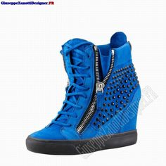 giuseppe wedge sneakers | 2013 Giuseppe Zanotti Femmes Crystal-Studded Suede Wedge Sneaker In ...