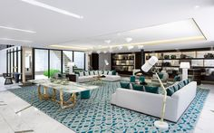 Penthouse Salon at the London West Hollywood