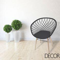 Novidade da Tramontina, cadeira Sidera apresenta design descontraído em diferentes materiais. Disponível em várias opções de cores, a peça confere um ar vintage ao décor com elegância e descontração.
