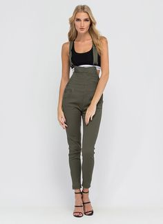 Major Makeover Jegging Overalls