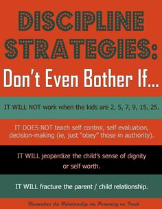 """Discipline teaches a skill...many """"discipline strategies"""" are just a quick fix to """"get the kid to"""" --> including #humiliationparenting #rethinkit"""