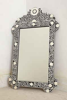 Flora Inlay Mirror - anthropologie.com #anthrofave