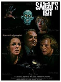 Salem's Lot 1979 Edit by Mario. Horror Tale, Sci Fi Horror Movies, Horror Movie Posters, Scary Movies, Great Movies, Horror Icons, The Artist Movie, Salem Lot, The Frankenstein