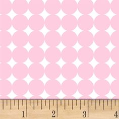 I Believe In Pink Dot Light Pink from @fabricdotcom  Designed by Rosemarie Lavin for Windham Fabrics, this cotton print fabric features a bright dotted design and is perfect for quilting, apparel, and home decor accents. Colors include pink and white.