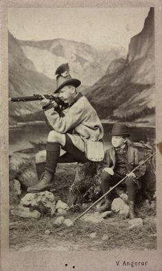 Franz Joseph and Rudolf