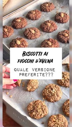 LADdicted - Pagina 2 di 19 - addicted to food & travel Biscotti Biscuits, Biscotti Cookies, Light Recipes, Food Inspiration, Italian Recipes, Breakfast Recipes, Bakery, Healthy Recipes, Delicious Recipes