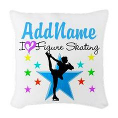 #FigureSkating #FigureSkatingGifts #IloveFigureSkating #personalizedfigureskating #CustomizedFigureSkating #UniqueFigureSkatingGifts  Lots more great Figure Skating gifts at www.cafepress.com/SportsStar