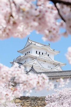 In spring, the cherry blossoms frame the white castle of Himeji, making it one of the most beautiful sights in Japan. Click through for a complete guide on how to enjoy spring in Japan! Places To Travel, Travel Destinations, Places To Go, Travel Deals, Japan Travel Tips, Asia Travel, Travel Vlog, Travel Pictures, Travel Photos