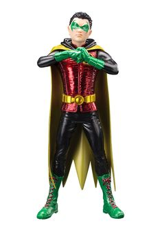 DC Comics statuette ARTFX+ 1/10 Robin Damian Wayne (The New 52) Kotobukiya
