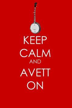 love the avett brothers :)