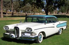 This 1958 Ford Edsel was one of the most unpopular cars ever manufactured, no syrises there then.