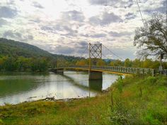 """Little Golden Gate Bridge"" located in Beaver, AR"