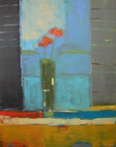 Stephen Dinsmore - Two Poppies, Open Window 2013