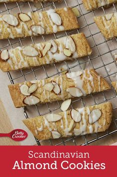 Making traditional Scandinavian almond-flavored cookies just got easier by using a cookie mix. No Bake Cookies, Cake Cookies, Cookies Et Biscuits, Cookie Recipes, Dessert Recipes, Dinner Recipes, Scandinavian Food, Almond Cookies, Almond Recipes