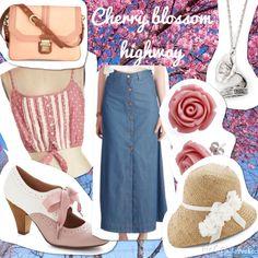 Cherry Blossom Highway