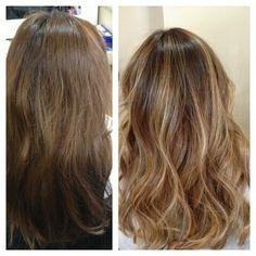 I love my new hair!!! Thank you Ashley <3 bronde