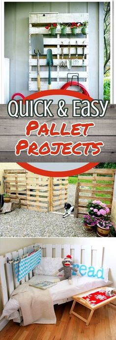 Pallet Ideas and Pallet Projects - Easy DIY Pallet Projects with Instructions - Unique Pallet Ideas To Make #palletprojects #diyideas #diyprojects #homedecorideas