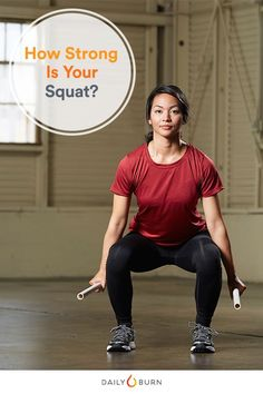 Proper squat form is about more than getting low. Does yours make the cut? Try the ACE bend and lift screen to put your squat mechanics to the test. via @dailyburn
