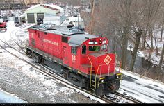 RailPictures.Net Photo: Morristown & Erie Railway Alco C424 at Morristown, New Jersey by Carl Perelman