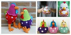 2017 is the Year of the Rooster. We've compiled a few Rooster Crochet Amigurumi Patterns for you to have some yarn hooking fun with roosters.