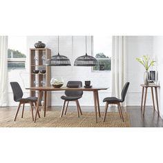Euro Style 5-piece Beckett Scandinavian Style Dining Set | Overstock.com Shopping - The Best Deals on Dining Sets