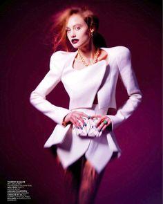 Queeny van der Zande by Mason Poole for L'Officiel NL December/January 2012-13
