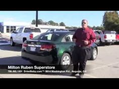 www.DriveBaby.com Ray Lockamy does a quick walk-around of the 2014 Chevrolet Cruze at Milton Ruben Superstore. #DriveBaby
