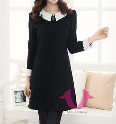 Peter Pan collar Shift