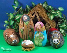 Presepe - Nativity set  Il presepe di sassi