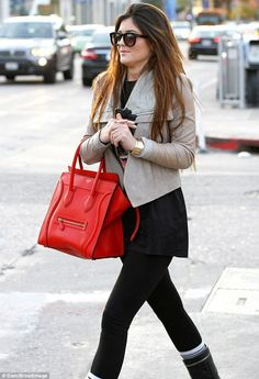 Oh Wow Kylie Jenner...that Celine is to die for.