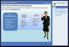 myPerformance course.         Course for performance management processes.