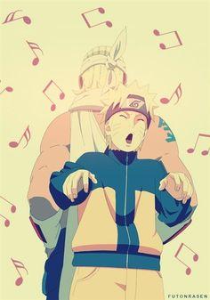 Killer Bee y Naruto- Rap-Anime-Naruto Shippuden Naruto And Sasuke, Naruto Gaiden, Naruto Cute, Naruto Shippuden Anime, Neji E Tenten, Naruhina, Narusaku, Shikamaru, Noragami