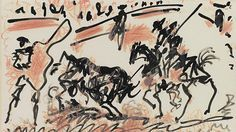 Picasso and the Art of Bullfighting   Sotheby's