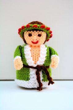 Ghost of Christmas Present - A Christmas Carol - Knitting Pattern - PDF E-Mail £2.60