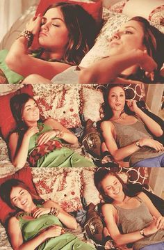 Aria and Spencer - Pretty Little Liars