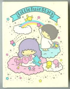 Oh how I loved Hello Kitty and The Little Twin Stars - kiki and lala Little Twin Stars, Little Star, My Childhood Memories, Sweet Memories, Hello Kitty My Melody, Pochacco, 80s Kids, Sanrio Characters, Girls Dream