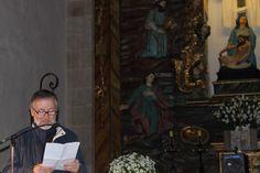 A palabra fíaa nesta andaina Alfredo Erias,  historiador, pintor, debuxante e gravador, e director do Museo das Mariñas, en Betanzos.