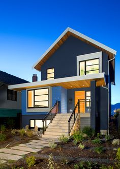 Naikoon Contracting Ltd. for Parker Street Renovation in Vancouver #departmentGAwards #2013DGFinalist for Most Innovative Certified Home and Best Certified Whole House Renovation