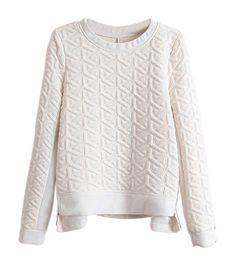 Must-Have: Textured Sweatshirt