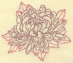 Chrysanthemum tattoo! I want this so bad!!!!
