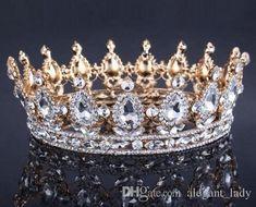 Elegant Vintage Style Sparkling Crystal Bridal Tiara Pageant Tiara SALESALESALE