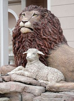 The lamb and the lion