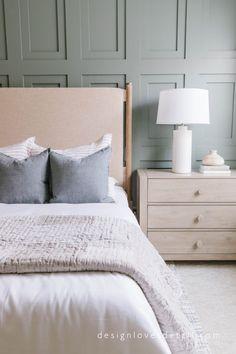 New Room Sneak Peek: 2 curated bedding looks! #bedroomideas