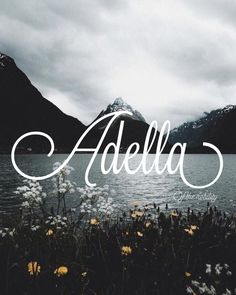 Adella Meaning: of the nobility Spanish names A baby girl names A baby names female names whimsical baby names baby girl names traditional names names that start with A strong baby names unique baby names ttc -