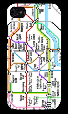London UnderGround APPLE IPHONE 4 IPHONE 4S AND IPHONE 5 Case Map    All our phone covers are printed using a process called Sublimation.      Sublimation is a process which fuses a specialized ink into the surface coating of the cover with heat and pressure which creates a hard wearing, ...